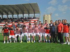 Sungurlu Belediye Spor 'un, hazırlık maçları devam ediyor