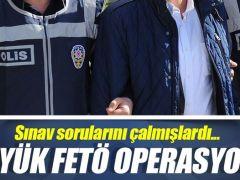 Ankara merkezli büyük FETÖ operasyonu!