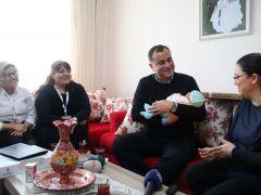 Taşdelen'den adaşına ziyaret