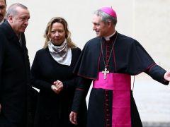 59 Yıl sonra bir ilk! Erdoğan, Vatikan'da