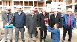 """""""Çorum Belediyesi'nin 'Hizmet Binası' yıl sonuna bitecek'"""