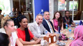 27 ülkeden üniversite öğrencileri, Kahramankazan'ı ziyaret etti