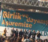'Birlik ve Dayanışma Aşuresi'ne binler katıldı