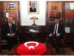 Yaşar'dan Ankara Valisi'ne hayırlı olsun ziyareti