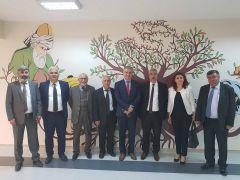 Çorum Hitit Dernekler Federasyonu'ndan Sungurlu Belediye Başkanı Şahiner'e ziyaret