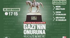 At yarışlarının derbisi  93.Gazi Koşusu kayıtları belli oldu