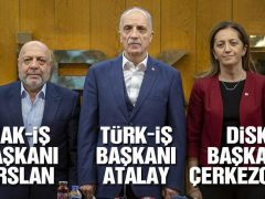 Üç büyük sendikadan Asgari ücret için açıklama