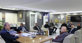 Oda başkanlarından başkana ziyaret