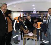 Sungurlu Belediye başkanı Şahiner'den personele süpriz.