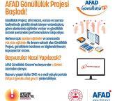 AFAD Gönüllü Arıyor!