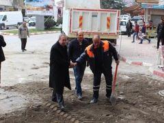 Sungurlu Belediyesi Fen işleri ekipleri çalışmalarına hız verdi.